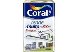Tinta Coral Rende Muito 18 Lts Branco / Gelo / Palha