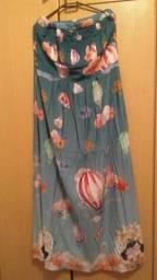 Vendo vestido longo marca LHB tamanho M
