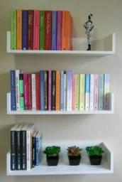 Plateleiras para livros promoçao