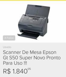 Scanner de MESA Novo por 890,00 reais