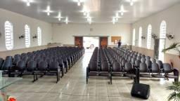 Cadeiras para igrejas. Poltronas e longarinas