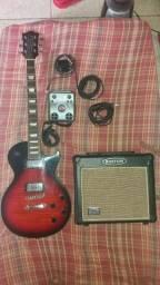 Guitarra les pool da Eko