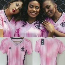 Camisa Feminina Outubro Rosa