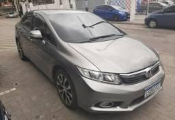 Honda Civic LXR aut GNV 5 2014 90.000km 1 ano de garantia - 2014