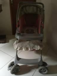 Carrinho de bebê falar com Agnaldo