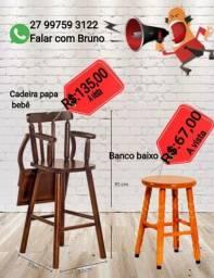 Super oferta Banco madeira Baixo madeira