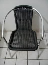 Vendo 6 cadeiras de alumínio para varanda