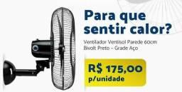 Ventilador De Parede Oscilante 200w/Bivolt
