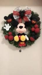 Guirlandas Natal Mickey e Minnie