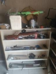 Armário com ferramentas