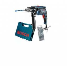 Furadeira De Impacto 13mm 650w C/ Kit E Maleta Gsb13re Bosch