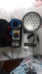 Vendo milímetro minipa ET-3200, luminária recarregável