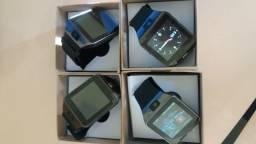 Smartwatch DZ09 na cor preta. Leia a descrição!