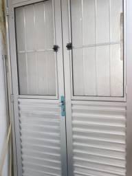Porta de alumínio novinha