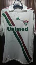 Camisa Fluminense 2009 Autografada f33344ad3094d