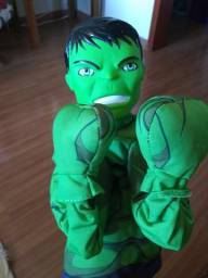 Boneco com Mecanismo - Hero Fighter - 20 cm - Marvel - Avengers - Hulk -