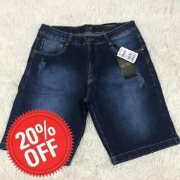 Bermuda jeans armani (PROMOÇÃO EXCLUSIVA)