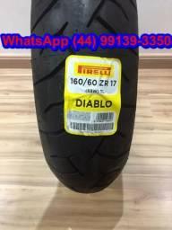 Pneu Pirelli Diablo 160/60-17 para Cb500f/XJ6 - NOVO - Queima de estoque