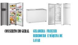 Conserto em Refrigeração geral