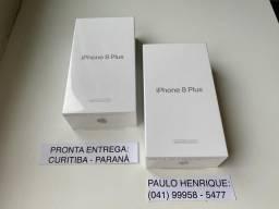 ? iPhone 8 Plus 64gb. Novos. 1 ano de garantia de fábrica. Troco