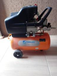 Vendo compressor de ar 24 l toolmix