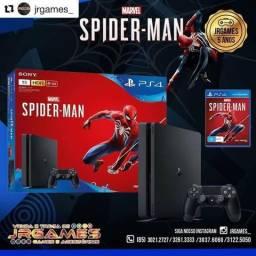 Ps4 Slim 1TB Spiderman