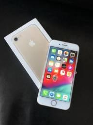 IPhone 7 Dourado 128 Gigas completo sem defeitos divido no cartão até 12X