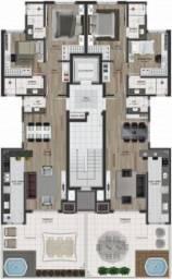 Apartamento 02 dormitórios suítes, Sanvitto