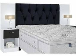 Usado, Cabeceira cama casal comprar usado  Belo Horizonte