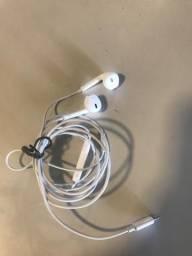 Fone de ouvido iPhone - EarPods com conector lightning ORIGINAL comprar usado  Brasília