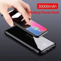 Carregador de banco de potência 30000 mah