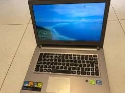 Notebook Lenovo Core i7 - 8gb - 1tb -Ideapad Z400 touch