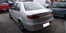 Fiat Siena EL 1.4 mpi Fire Flex 8V 4p 2011 prata 19.900$ 132760 km