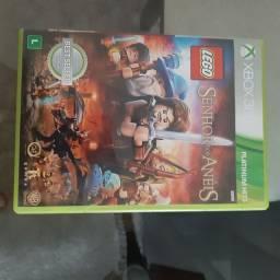 Jogo lego  original. Xbox   senhor dos aneis