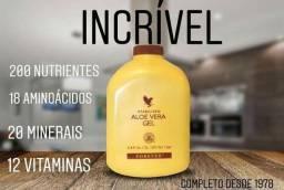 Suco natural de Aloe Vera
