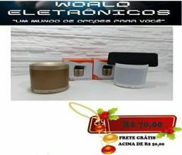 Caixa De Som Q3 Bluetooth Wireles Mp3 Usb Caixinha Com Rádio