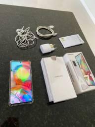 Samsung A71 128gb/6GB Ram Nt FiscalGarantia 1 ano/Ac TROCAS !!