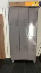 Armário escaninho 06 portas