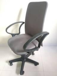 Cadeira de Escritório Diretor Suede