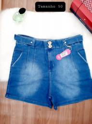 Shorts Jeans Plus Size/ Tam nas fotos do 46 ao 54. Por R$ 79,90 cada