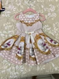 Lote vestido luxo tamanho 1ano