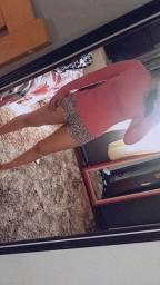 Brechó online // blusinha rosa gola alta 5 reais