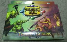 Jogo Card Game Elemental Clash: Trolls vs Goblins