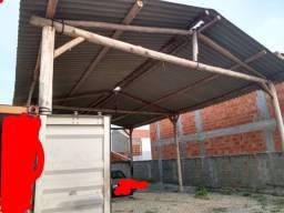 Vendo Cobertura barracão,telhas e estrutura tudo junto foi Montada menos de 1 ano 12x8x4