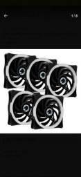 Vendo 5 Fans/ Cooler GameMax RGB