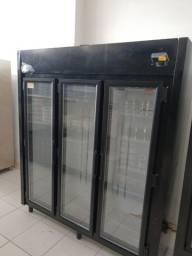 Refrigerador auto serviço 3 portas Kofisa padaria mercado * cesar
