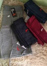 Título do anúncio: Bermudas Maurícinho, tela , jeans e moletom kit 3 por 120
