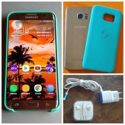Título do anúncio: Samsung S7 Edge 32gb Pequeno Trinco Funcionando