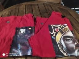 Título do anúncio:  Duas camisetas Boss liffe