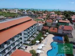 Título do anúncio: Flat com 1 dormitório à venda, 50 m² por R$ 370.000 - Praia de Muro Alto - Porto de Galinh